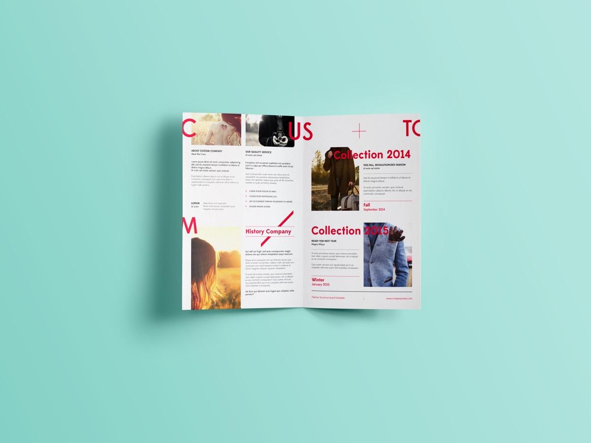 Lovely Single Fold Pamphlet Creations